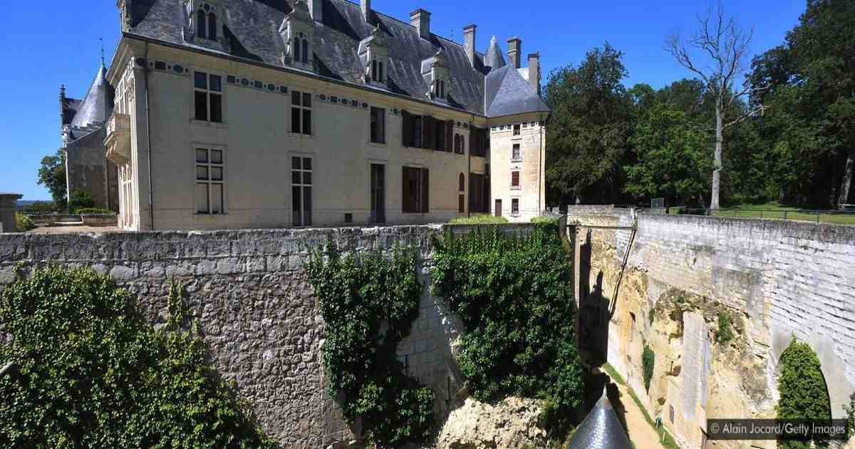 The secret world under a French castle