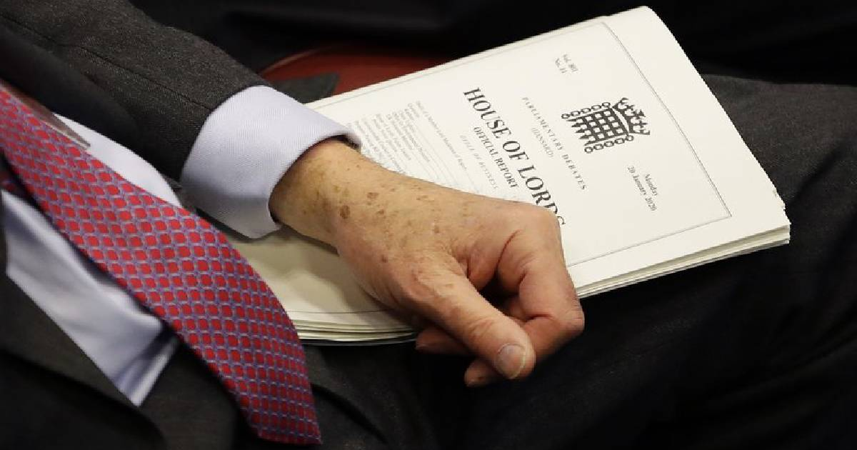 Brexit bill ,  Brexit ,  European Union ,  European Withdrawal Agreement Bill ,  House of Lords