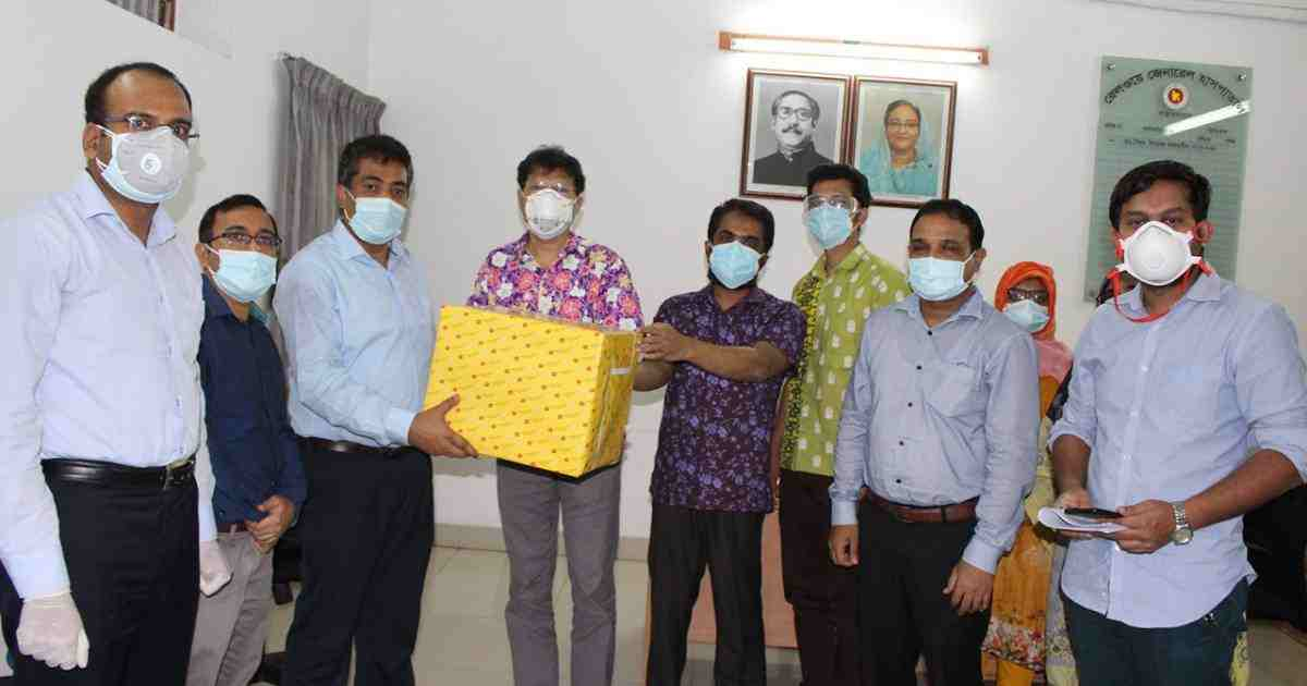 Covid-19: PRAN-RFL donates protective gears to 3 more hospitals