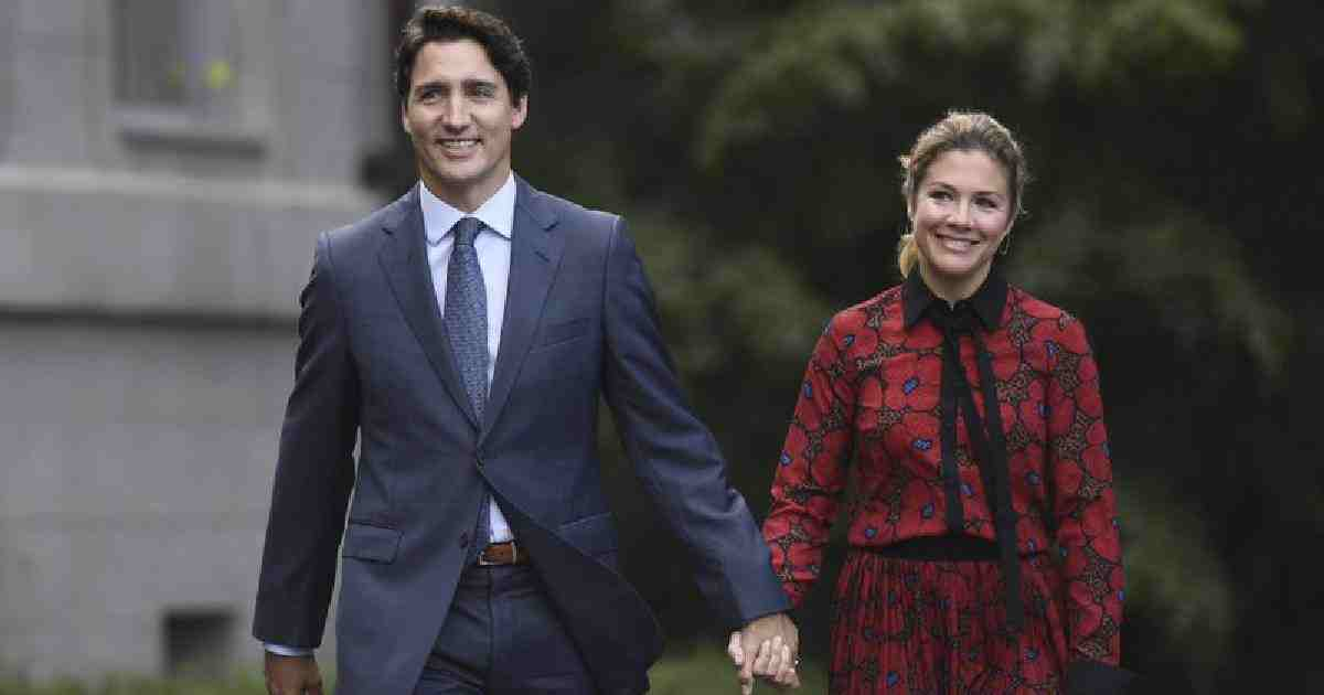In this photo, Canada's Prime Minister Justin Trudeau and his wife Sophie Gregoire Trudeau arrive at Rideau Hall in Ottawa, Ontario. AP File Photo