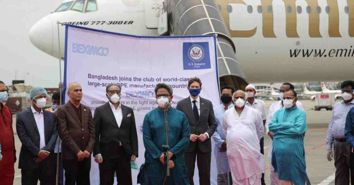 Beximco's foray marks 'first major shipment of PPE into US'