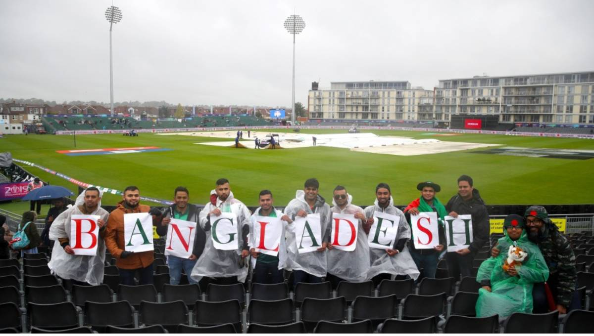 Rain washes out Bangladesh-Sri Lanka match