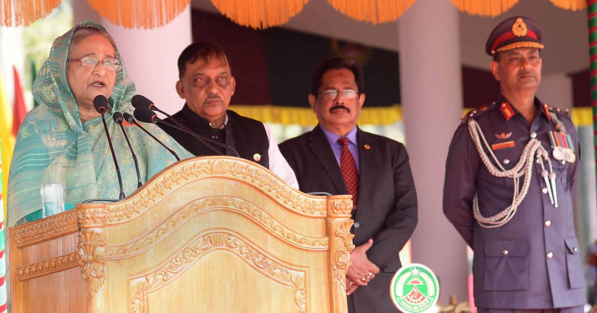 40th national rally of Bangladesh Ansar and VDP ,  Bangladesh Ansar and Village Defence Party ,  public security ,  Ansar-VDP ,  Prime Minister Sheikh Hasina