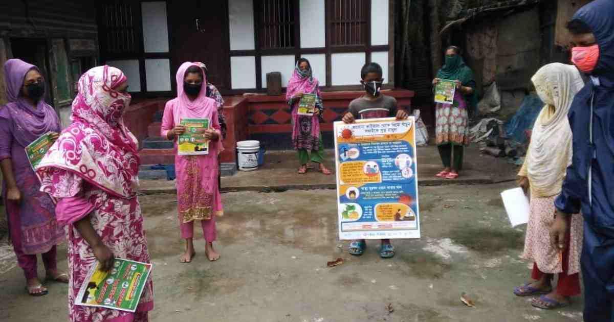 Covid-19: WSSCC Bangladesh for raising community level health awareness