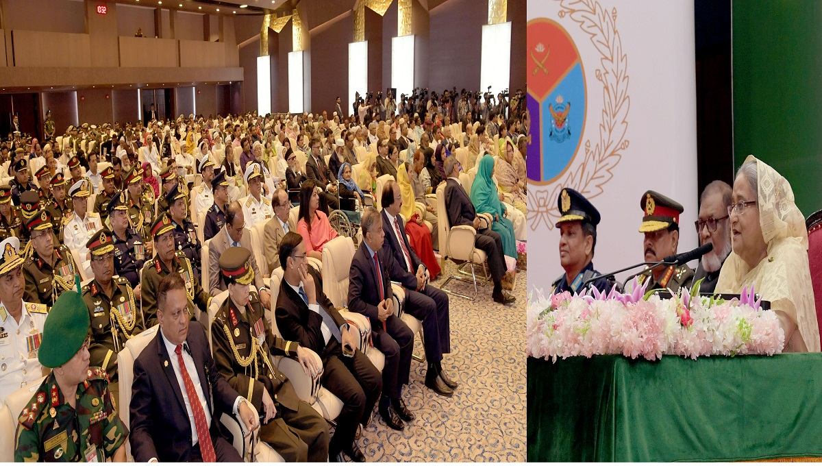 We don't want war but look for strong armed forces: PM