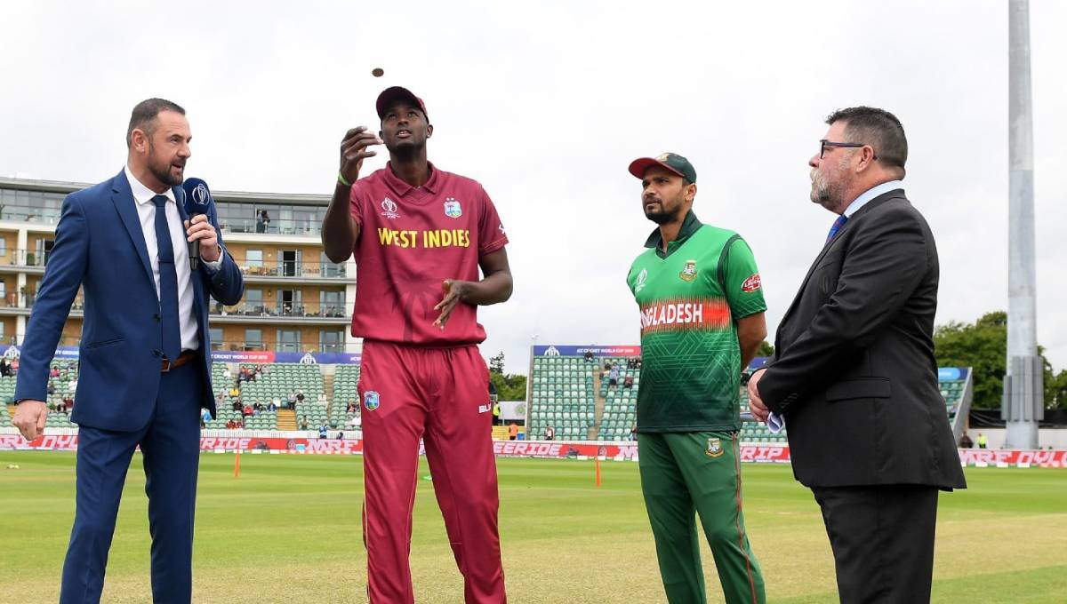 Winning toss, Bangladesh elected to bowl first against West Indies