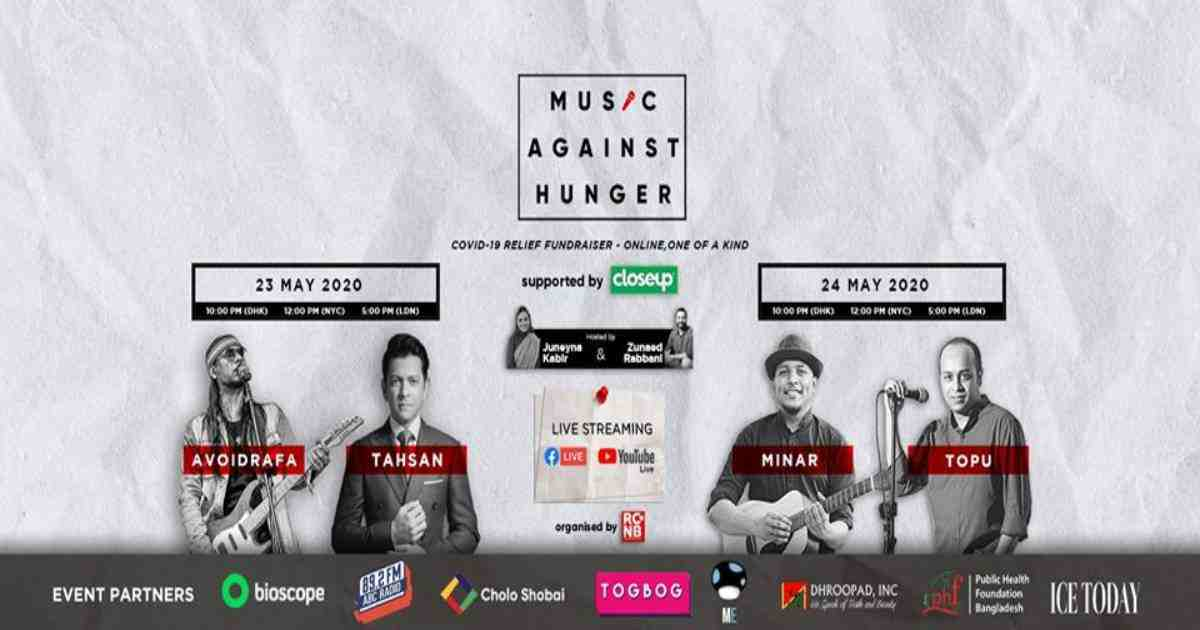 'Music Against Hunger': The charity concert for an era of pandemic