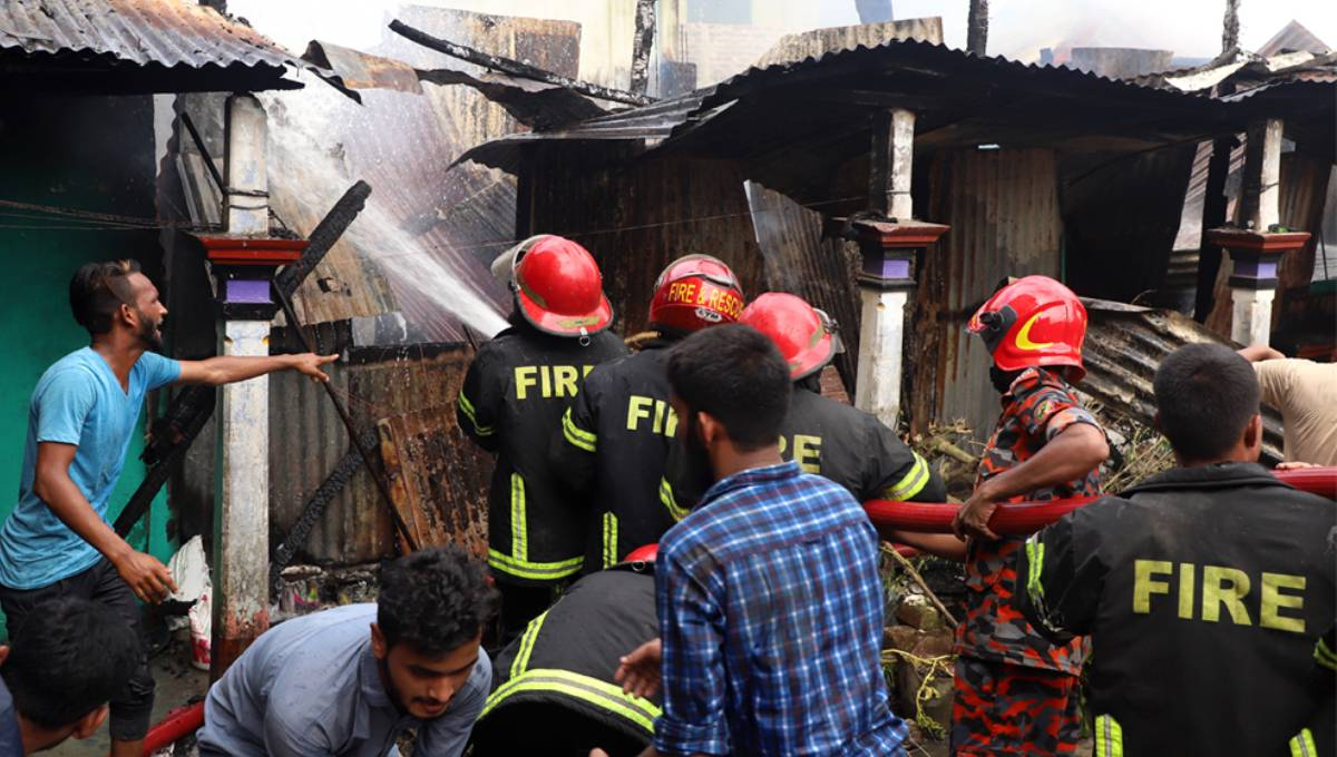 8 houses gutted in Sylhet fire