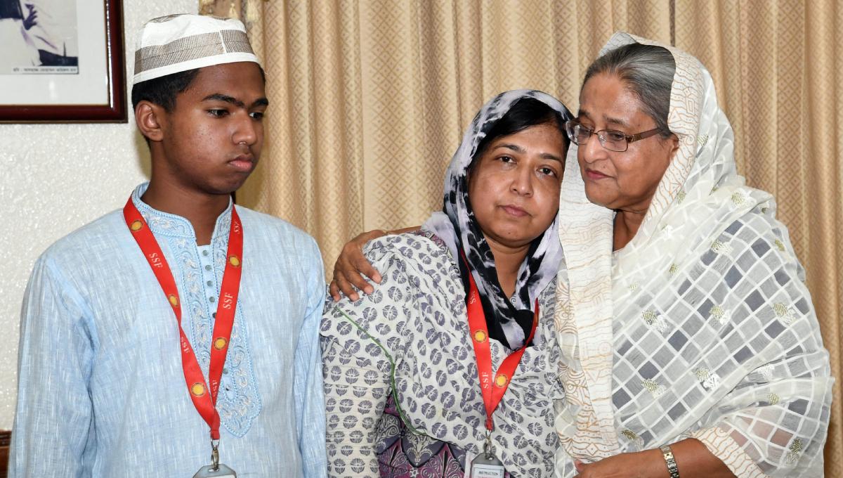 PM consoles Abrar's parents, voices deep shock at his death