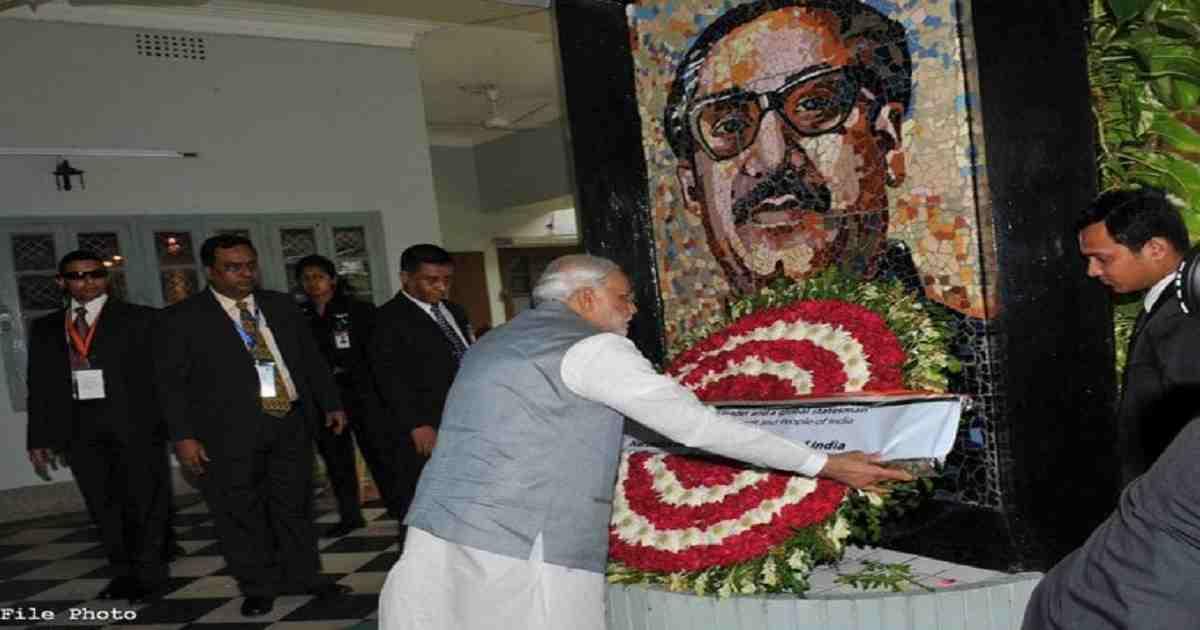 Modi pays tributes to Bangabandhu on his birth centenary