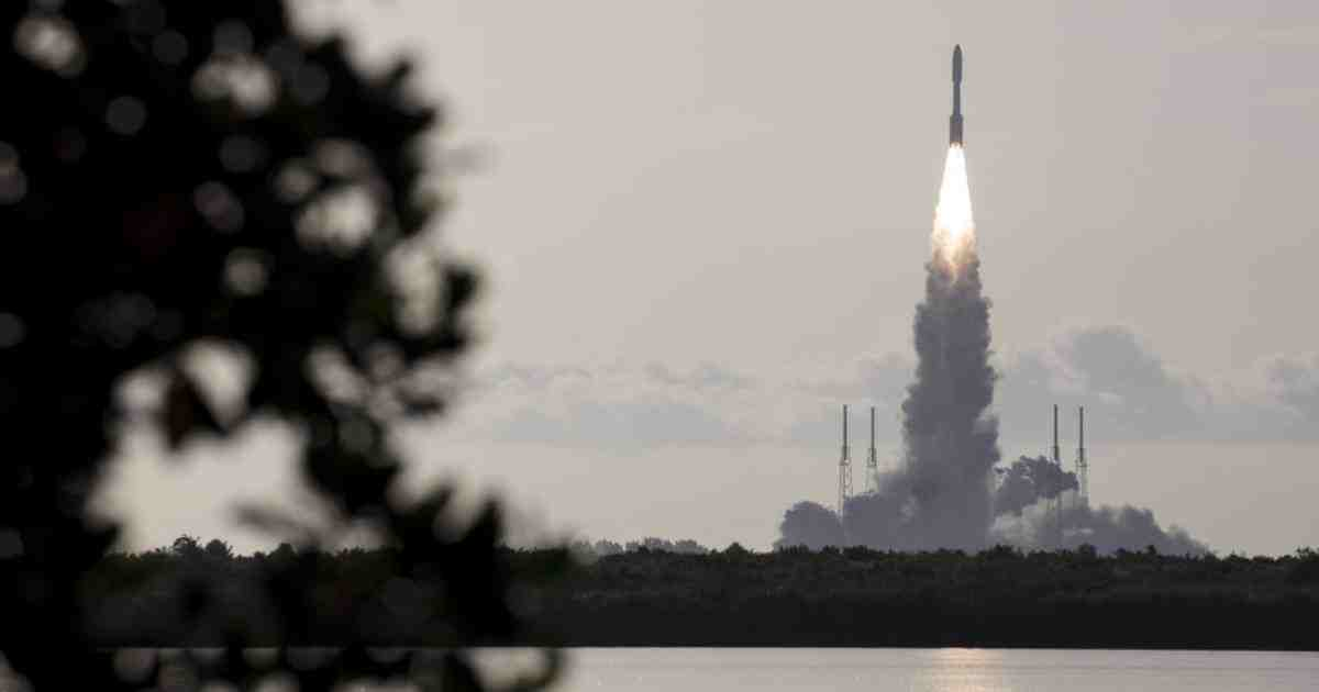 NASA launches Mars rover to find signs of ancient life