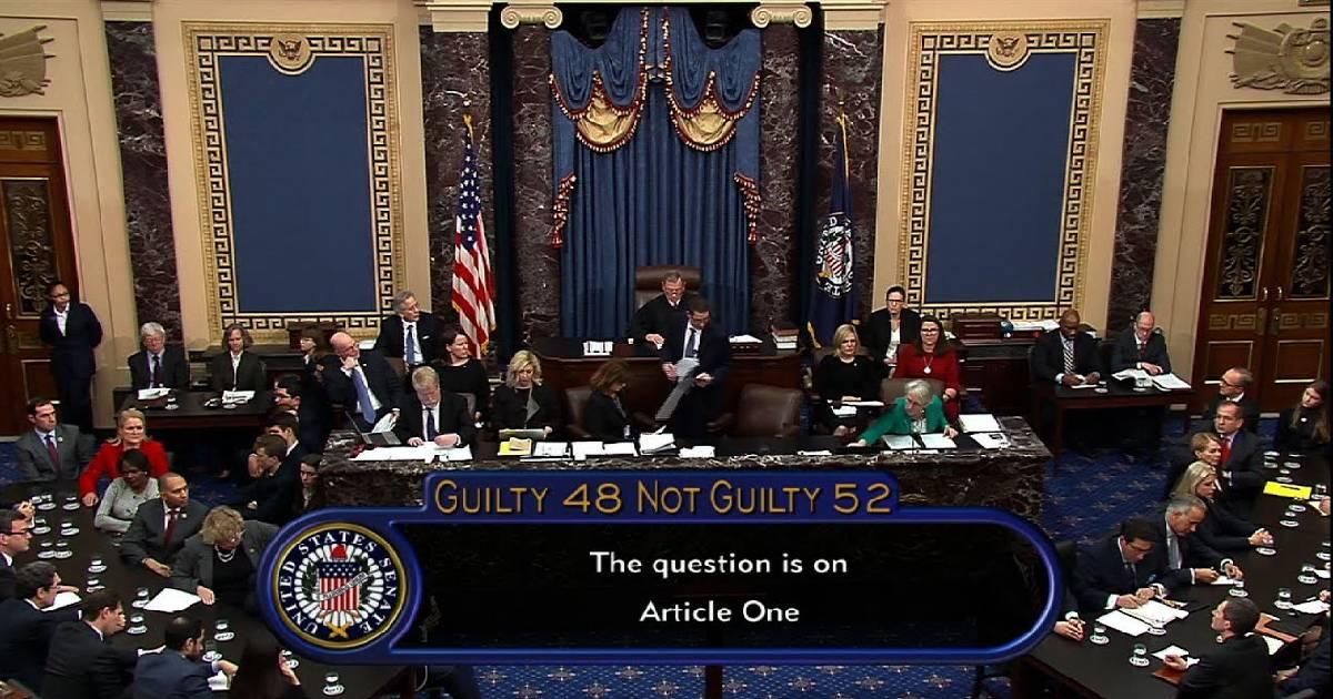 Donald Trump ,  Senate ,  impeachment ,  Not guilty