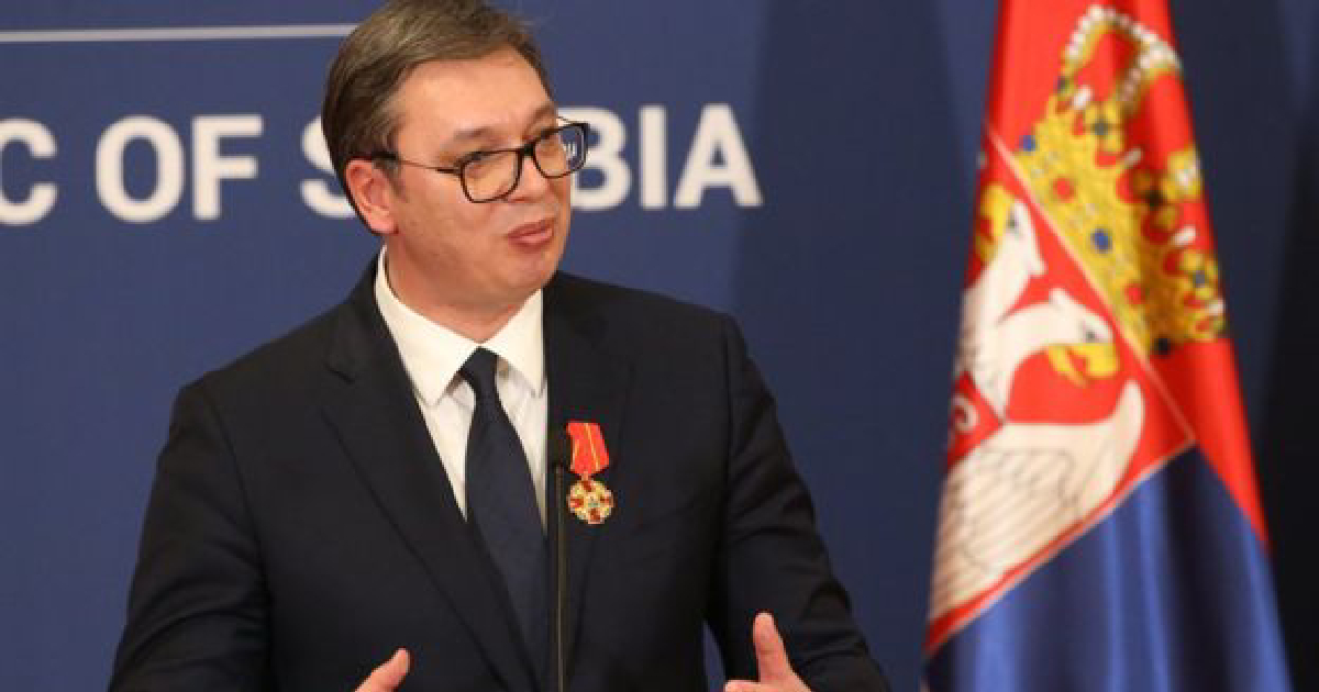 Serbia's president ,  cardiovascular problems