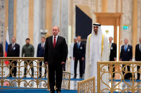 Abu Dhabi crown prince meets Russian president over expansion of bilateral ties
