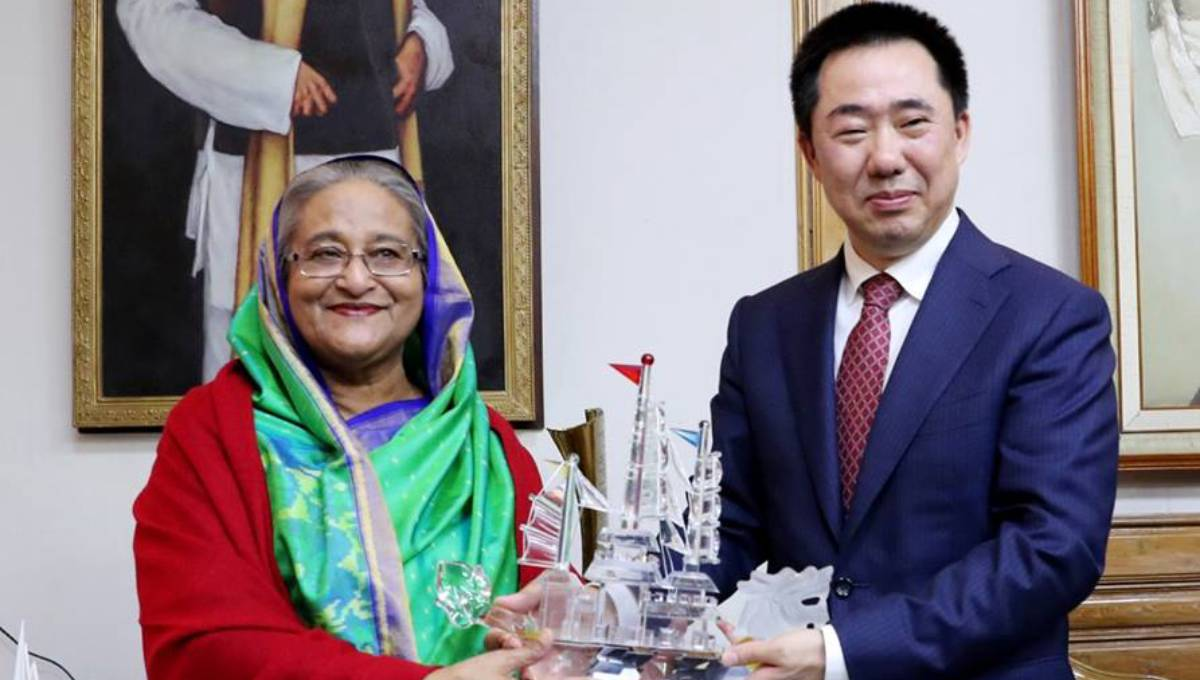 Chinese President, PM congratulate Hasina on her party's win