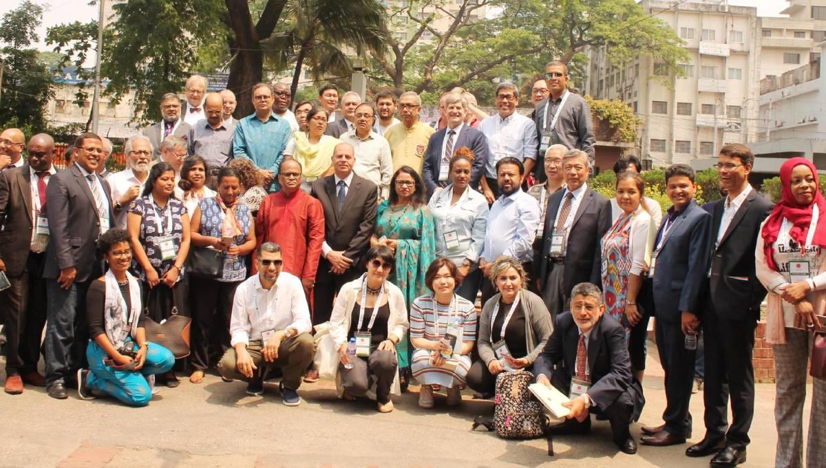 Views-exchange with foreign journos held at Jatiya Press Club