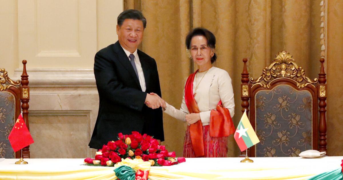 Myanmar ,  China ,  Chinese President Xi Jinping ,  Belt and Road Initiative ,  Aung San Suu Kyi
