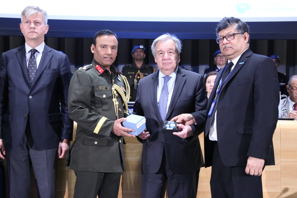 UN honours 12 fallen peacekeepers from Bangladesh