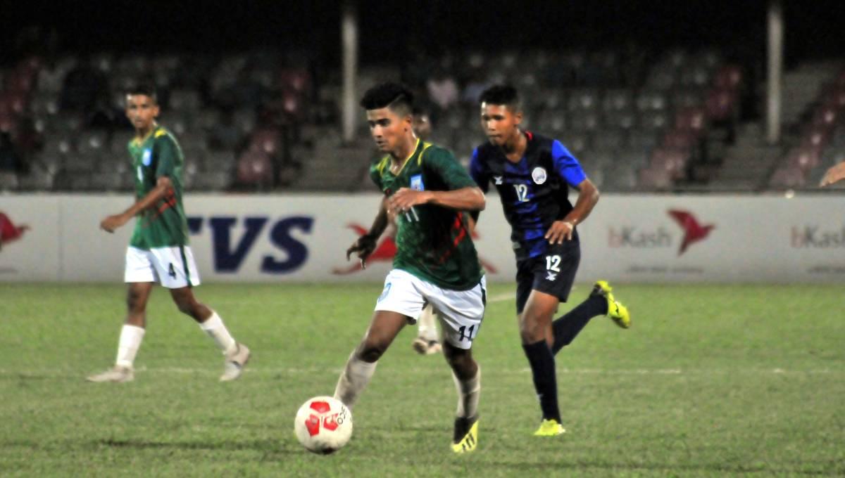 UEFA U-16 Football: Bangladesh makes good start beating Cambodia 2-0