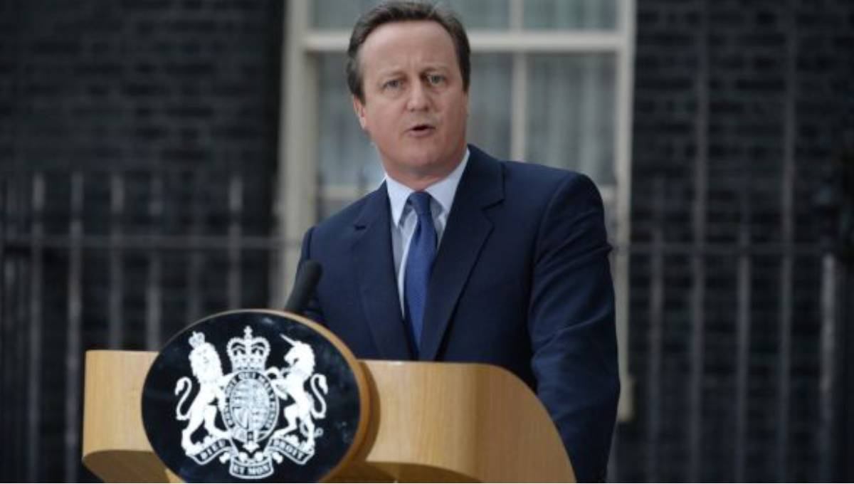 Former PM Cameron 'sorry' for Brexit divisions