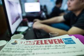 3 Myanmar journalists in court over story gov't calls false