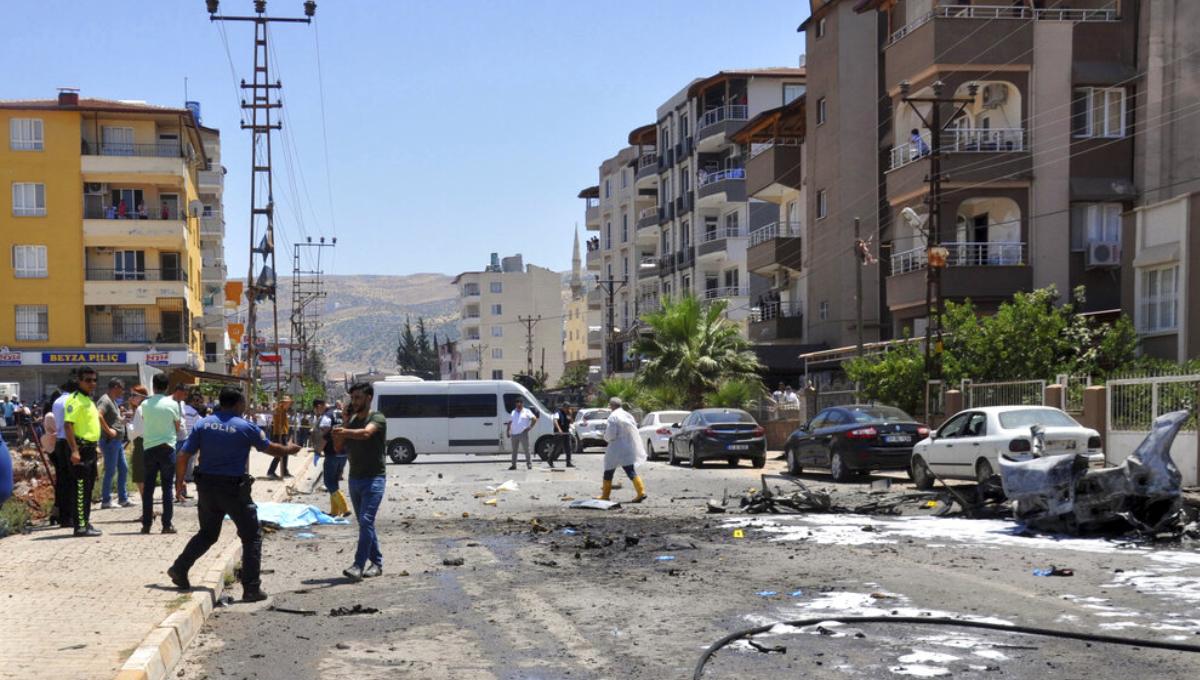 Turkey: 3 killed in explosion near border with Syria