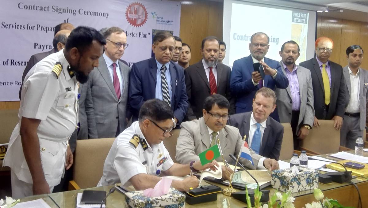 Deal inked to prepare Payra Port master plan