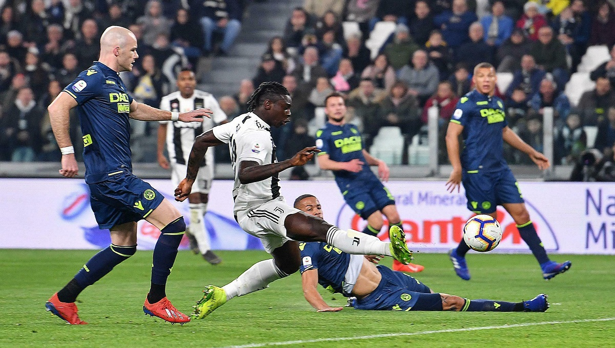 Teen Kean scores 2 as Juventus beats Udinese 4-1 in Serie A