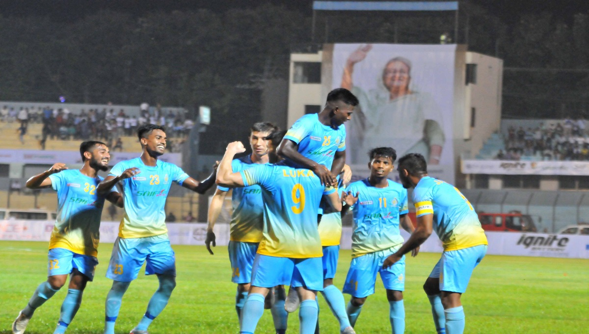 Sk Kamal Football: Ctg Abahani off to flying start, crush TC Sports 4-1