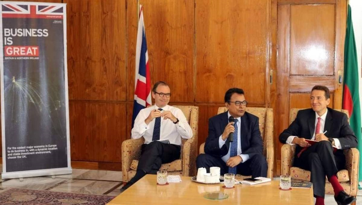 Bangladesh seeks more British investment to boost growth