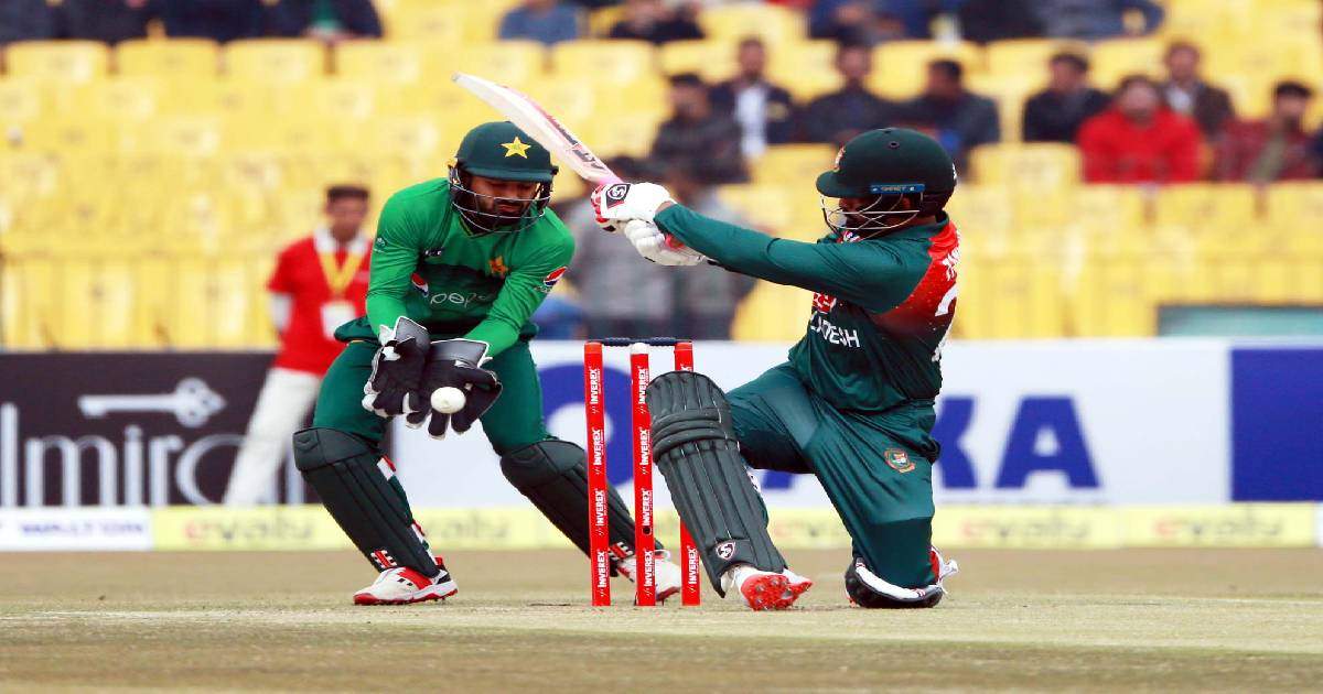 three-match series against Pakistan ,  2nd T20 ,  Gaddafi Stadium