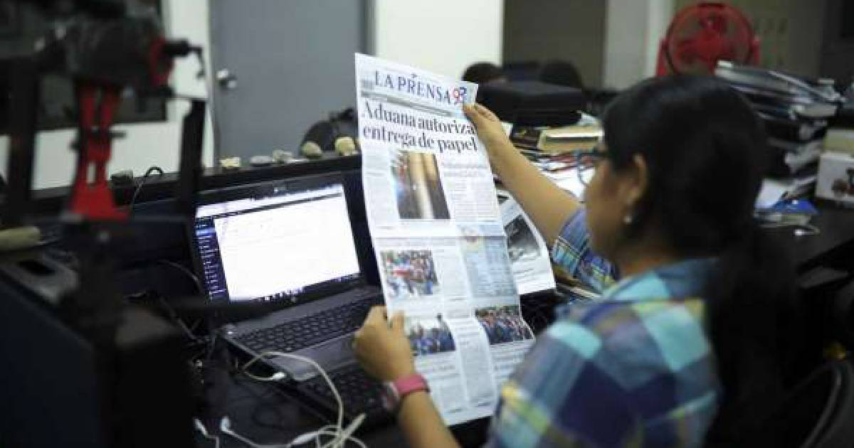 Nicaragua paper gets supplies held at customs for 18 months