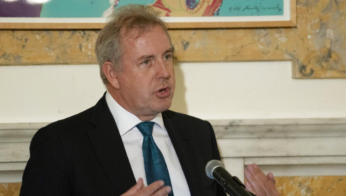 UK prime minister stands by embattled US ambassador