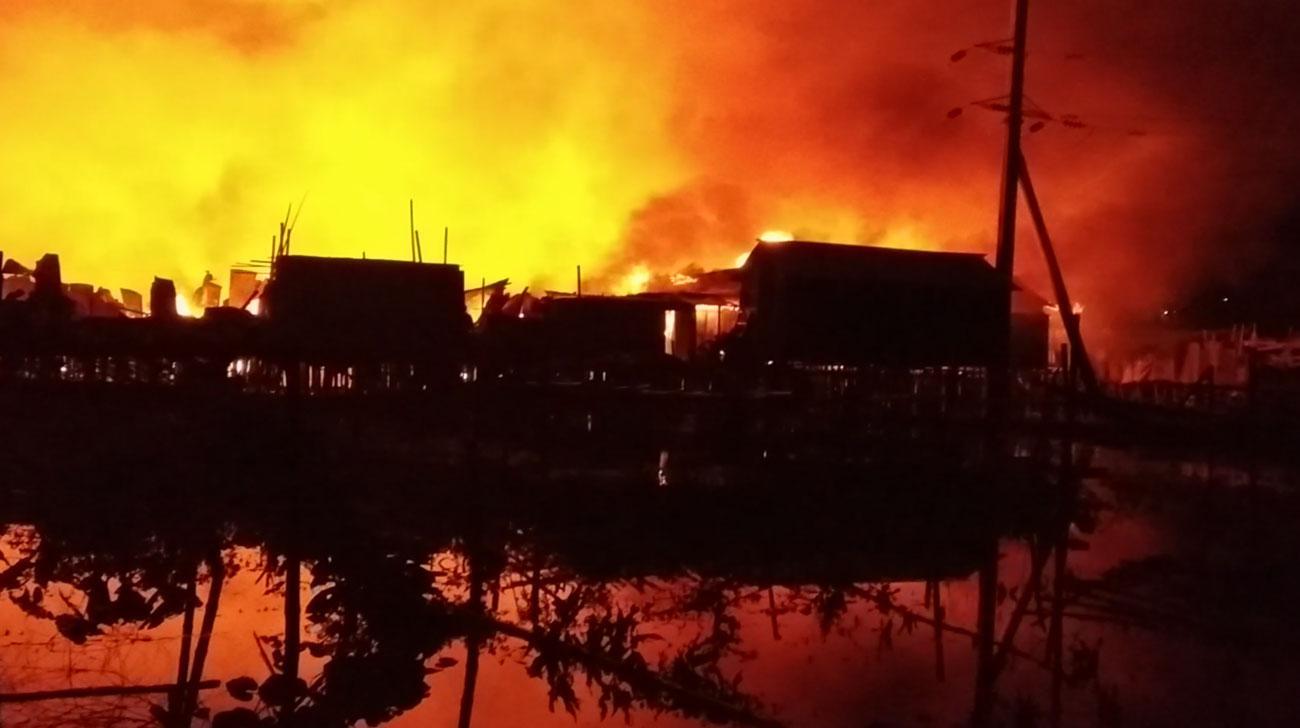 Two infants burnt dead in Bhashantek fire