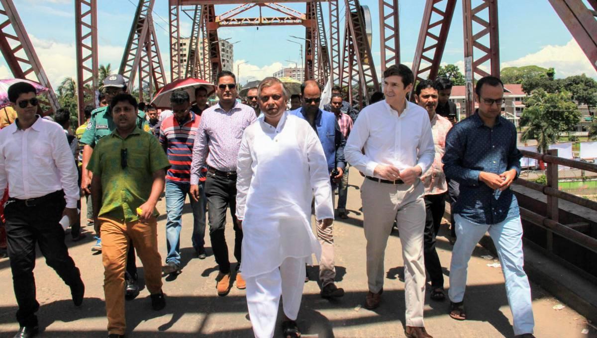 US envoy visits Sylhet to promote economic, military ties with Bangladesh