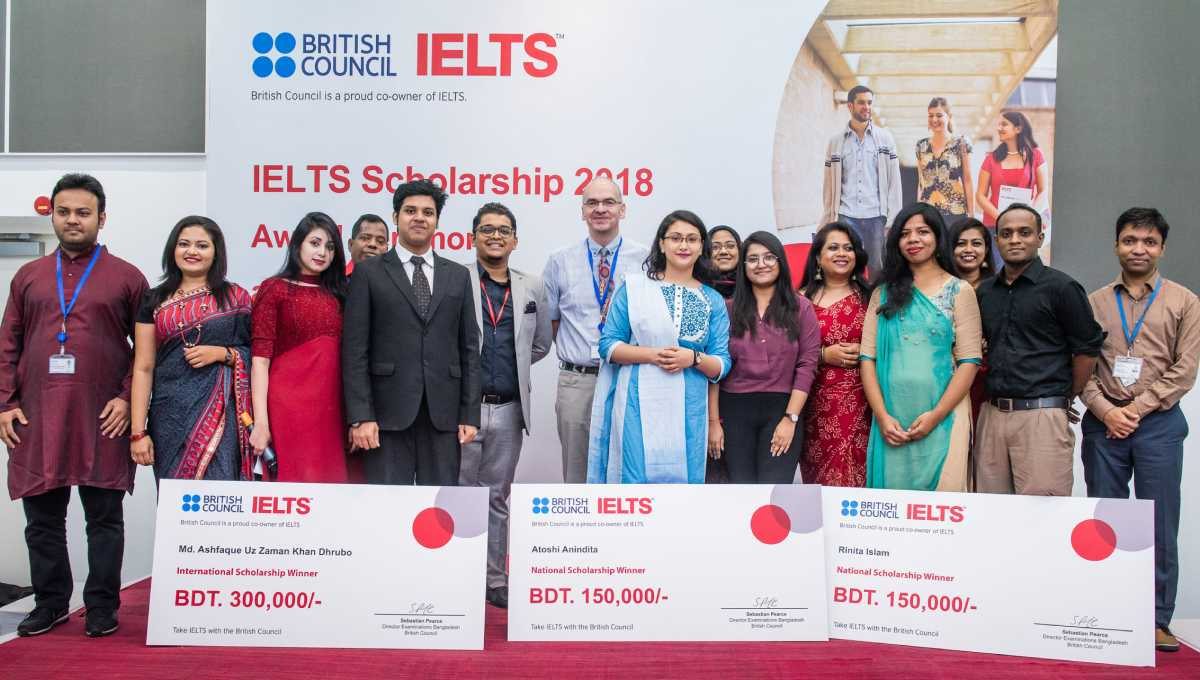 7 students get IELTS scholarships