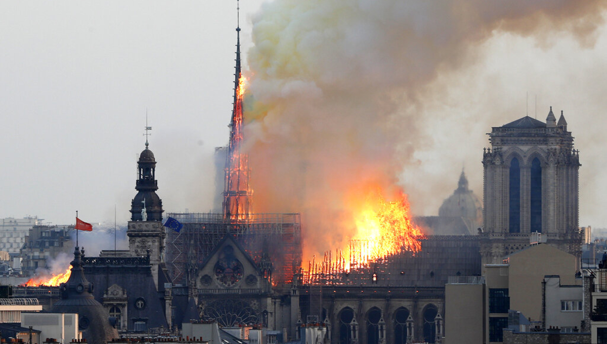 Catastrophic fire engulfs Notre Dame Cathedral in Paris