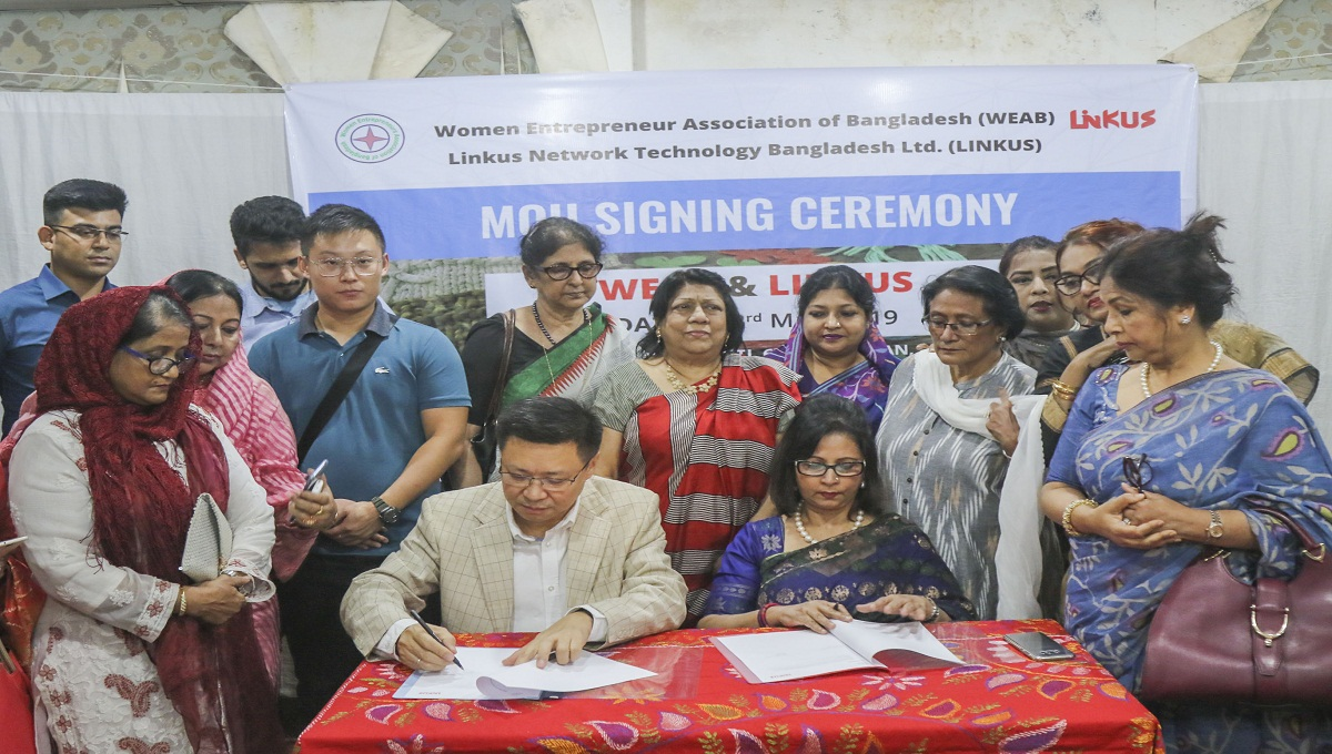 WEAB, Linkus sign MoU