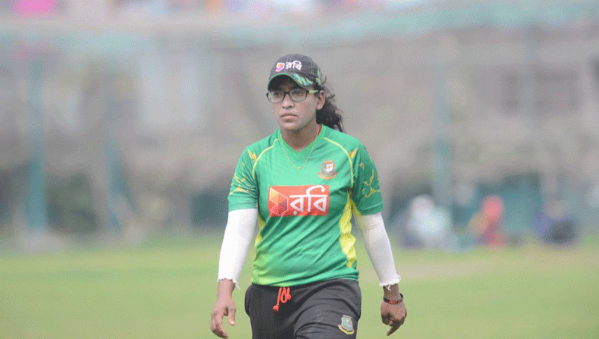 Rumana included in ICC Women's T20I Team as first Bangladeshi