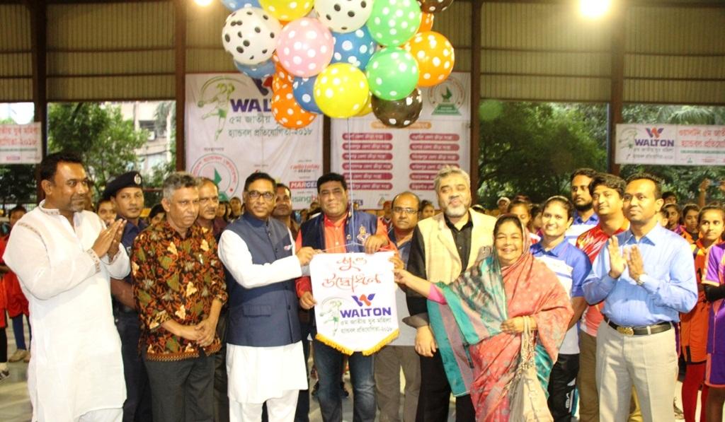 Youth Handball: Dhaka makes a good start beating Gopalganj 19-13