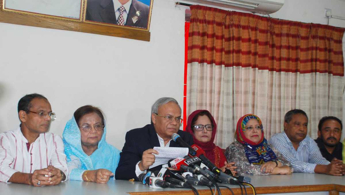 Election schedule announced swiftly at govt behest: BNP