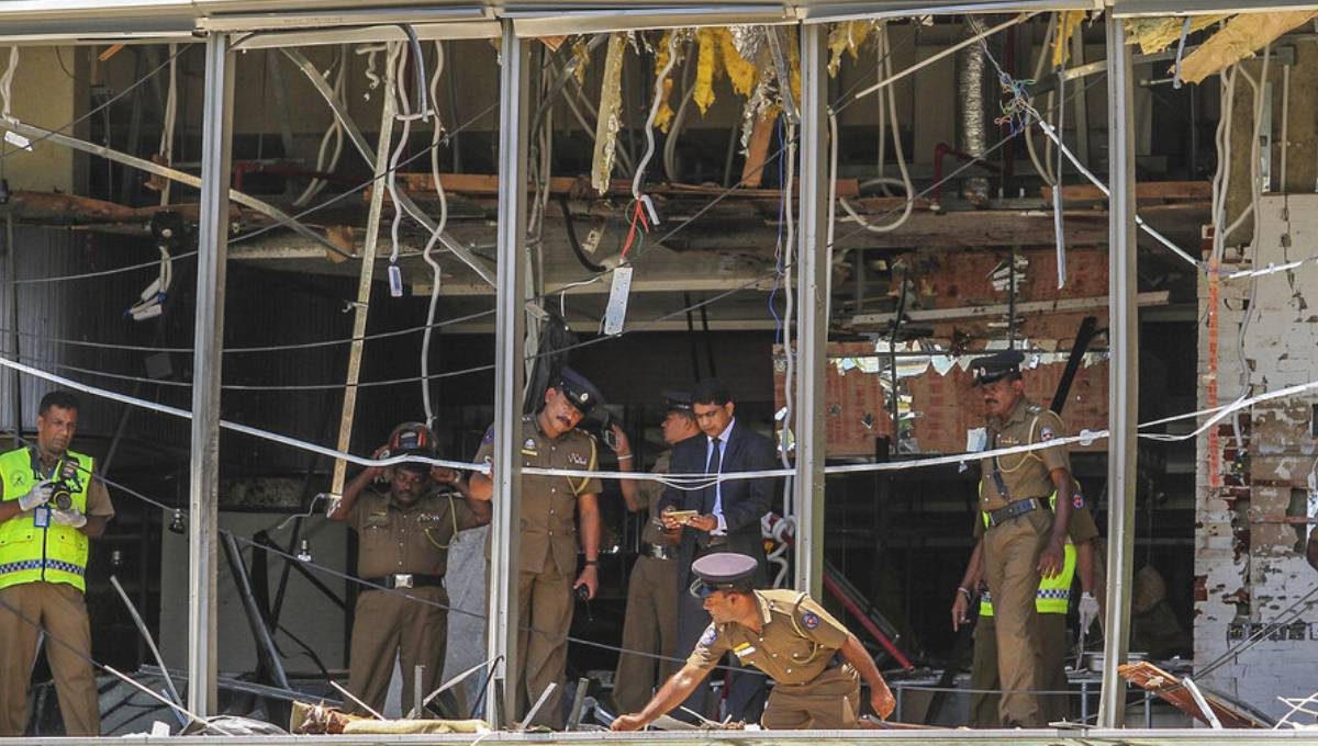IS group claims Sri Lanka Easter attacks