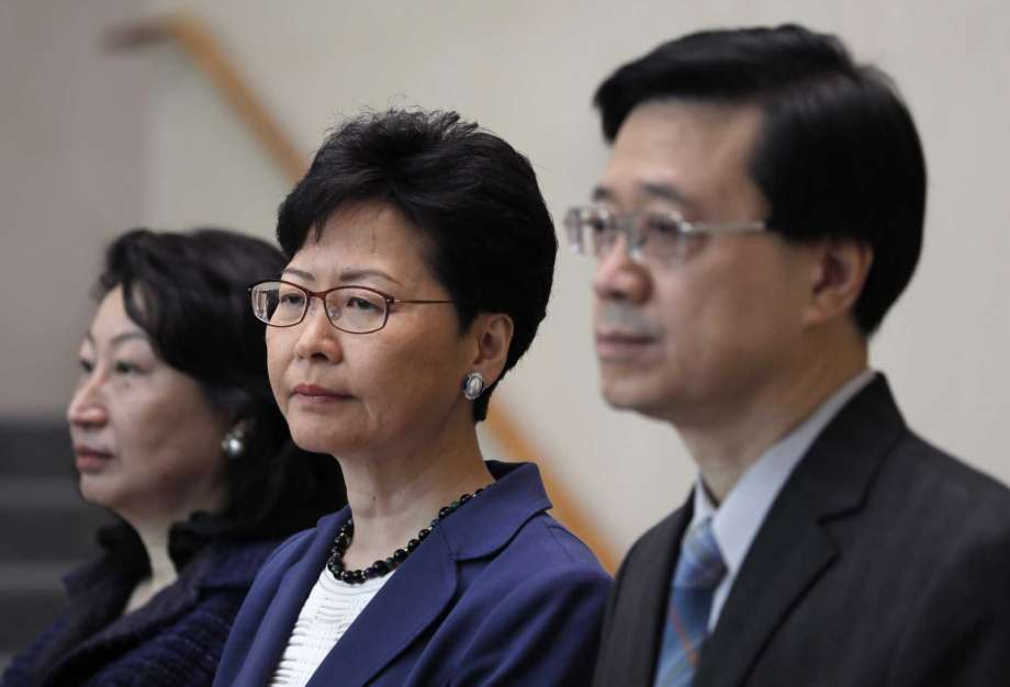 Hong Kong chief says extradition law will go to legislature