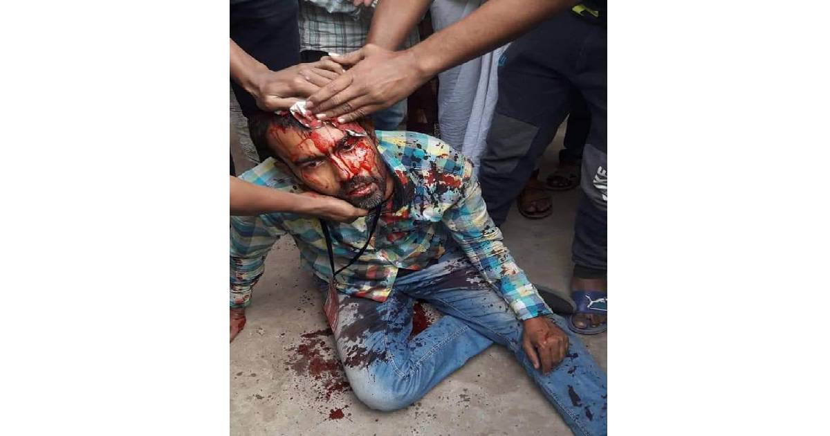 journalists injured ,  Dhaka city corporations elections ,  ZH Sikder Women's Medical College and Hospital ,  Dhaka Medical College and Hospital