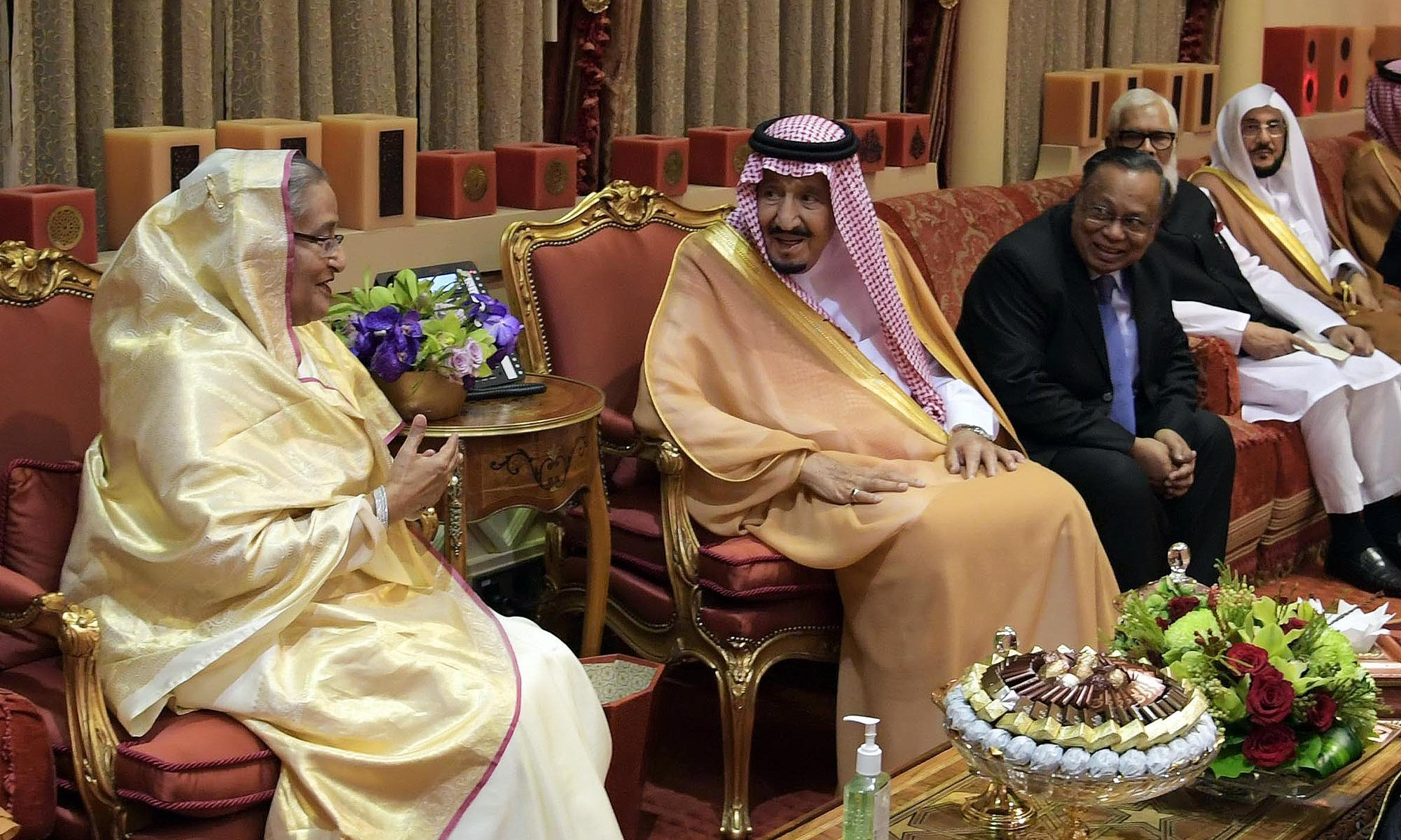 Saudi Kings wishes present govt's continuation, says FS