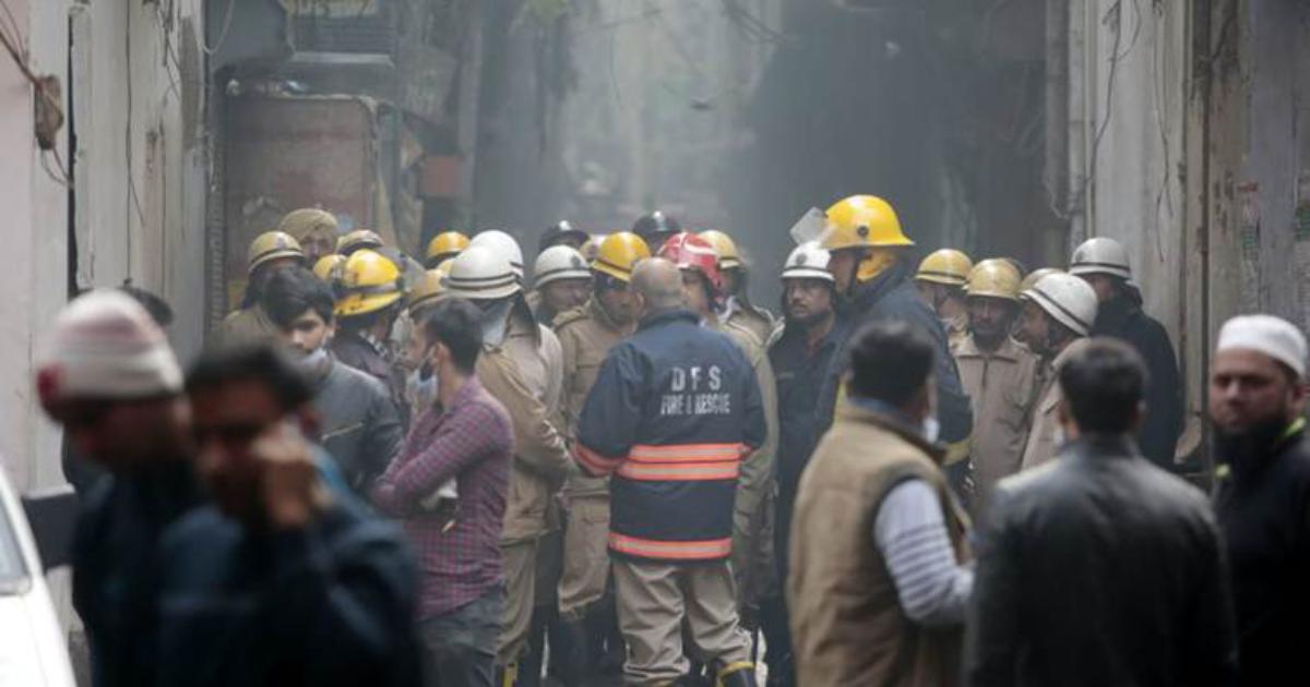 Delhi ,  Fire
