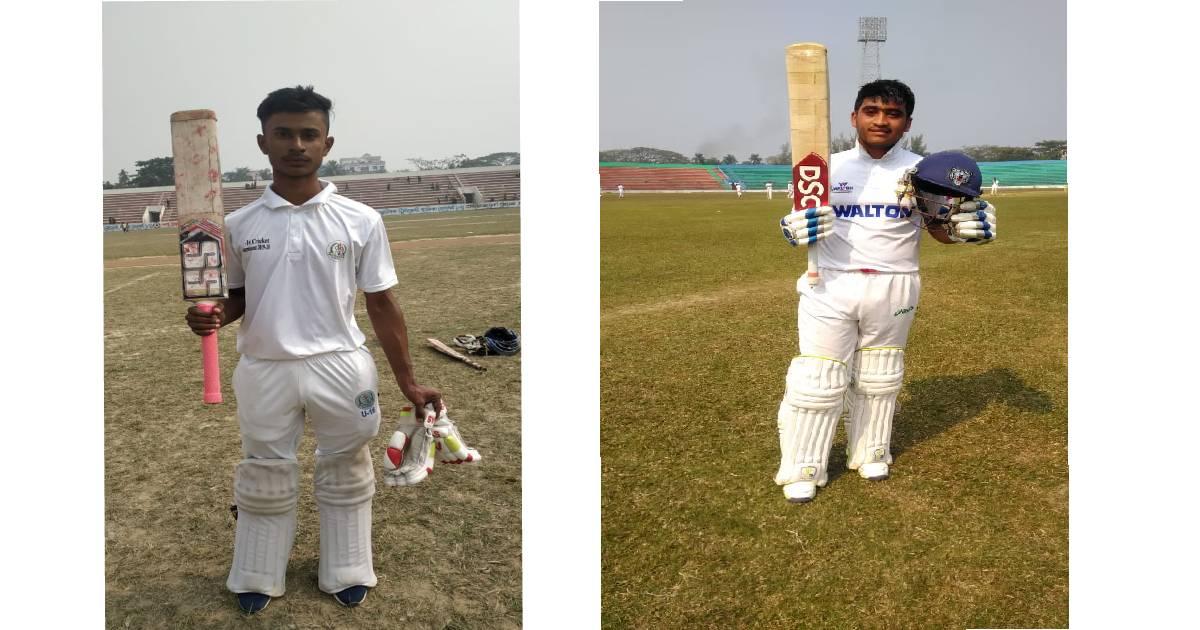 Bappi, Anik hit tons in Bangabandhu National School Cricket