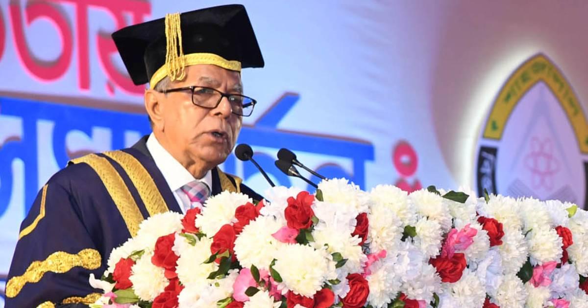 universities , Convocation , President , Education , Shahjalal University of Science and Technology (SUST) , President Abdul Hamid , Bangladesh