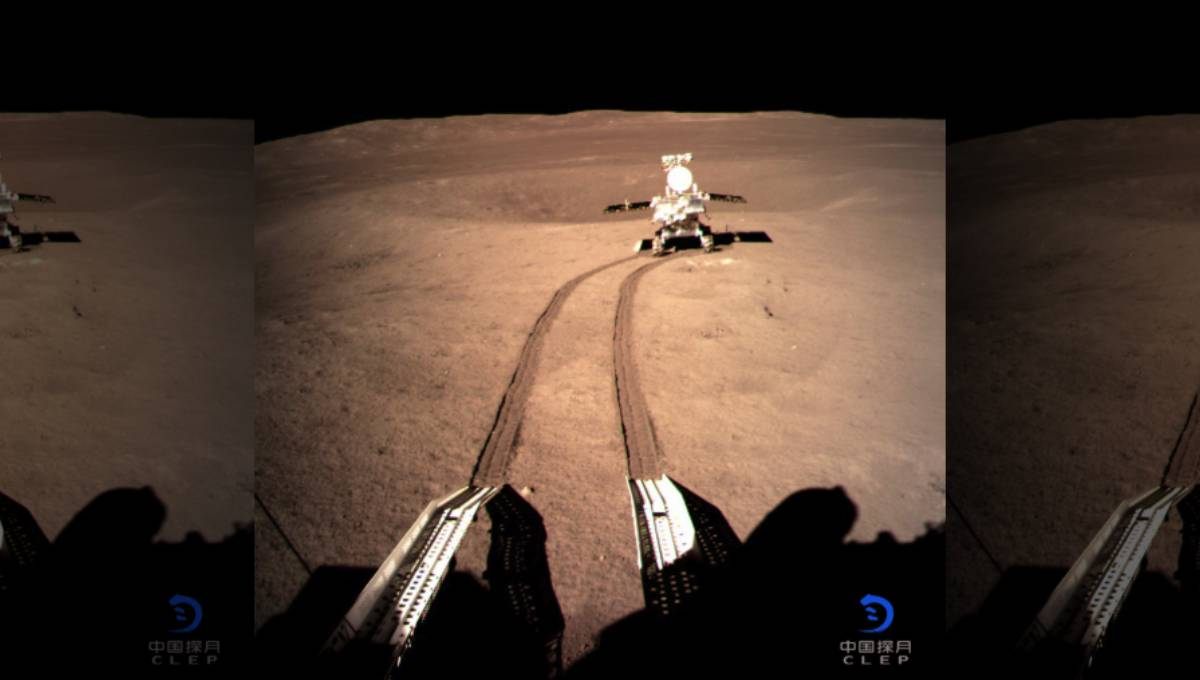 Chinese rover powers up devices in pioneering moon mission