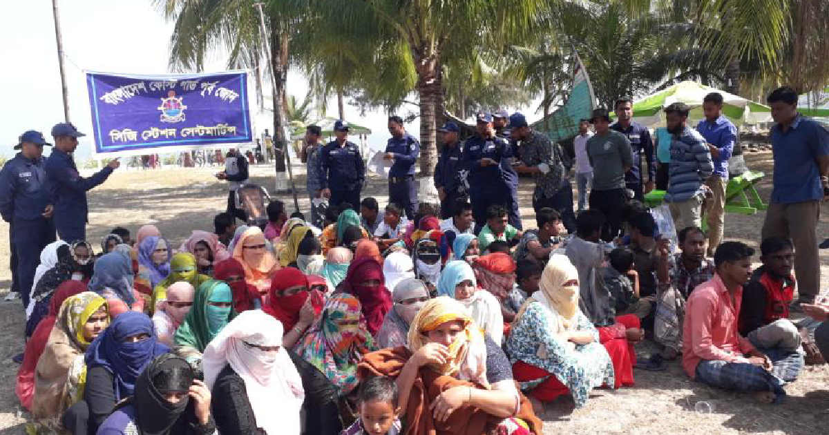 15 Rohingyas die, 52 others 'missing' in Bay trawler capsize